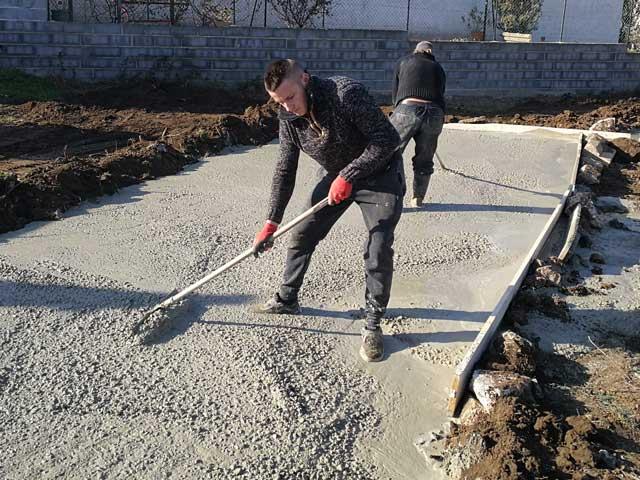 devis dalle beton plancher