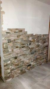 devis briquette mur